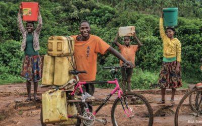 Velos sammeln für Afrika